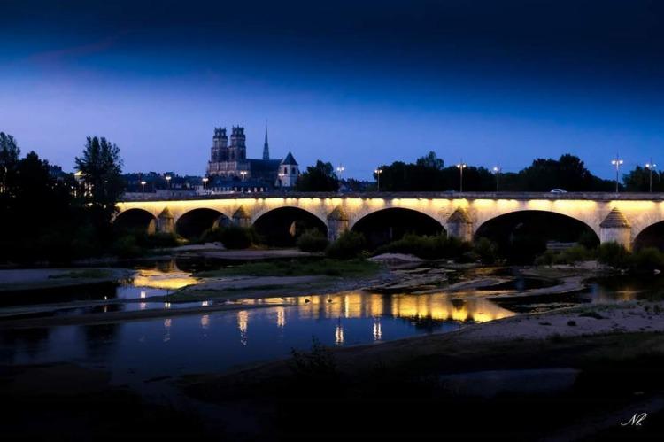lourymage - La nuit sur Orléans