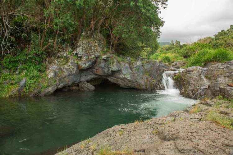 """Lourymage - Bassin de la cascade Langevin """"La Réunion"""""""